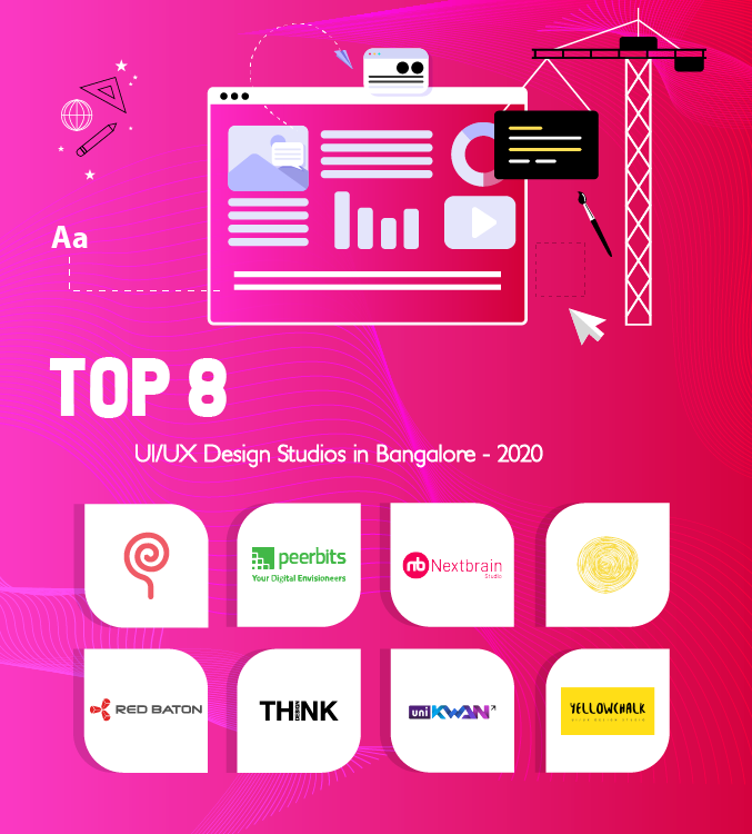 Top 8 UI/UX Design Studios in Bangalore - 2020 #userexperience User Experience (UX) design plays a key role to boost your business by creating appealing and interactive images to the websites and mobile applications which grab the customer's attention. #userexperience