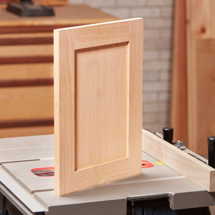 DIY Shaker Cabinet Doors - Diy cabinet doors, Making cabinet doors, Shaker cabinet doors, Diy door, Woodworking projects, Diy cabinets - A table saw is all you need!