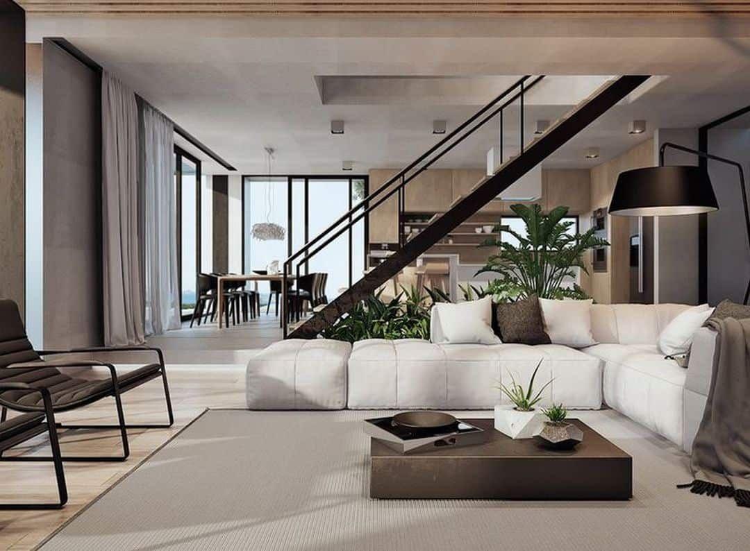 Home design interior living room