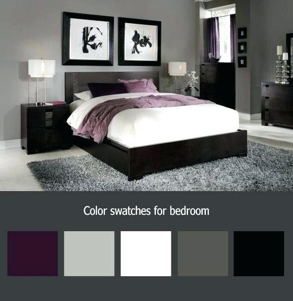 Purple And Grey Bedroom Purple And Grey Bedroom Purple And White Bedroom Awesome Best Purple Grey Bedroo Bedroom Color Schemes Bedroom Makeover Remodel Bedroom