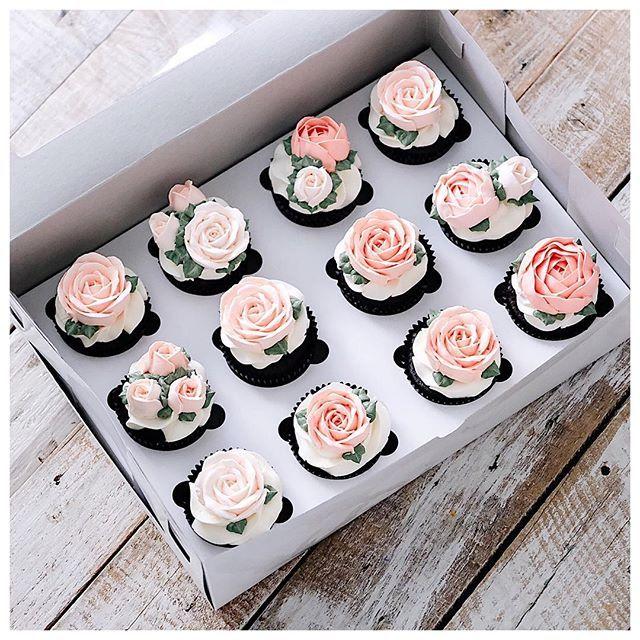 Decorative Cupcake Boxes ❀ Pinterest  Aphra Food  Pinterest  Bakeries Cake And Food