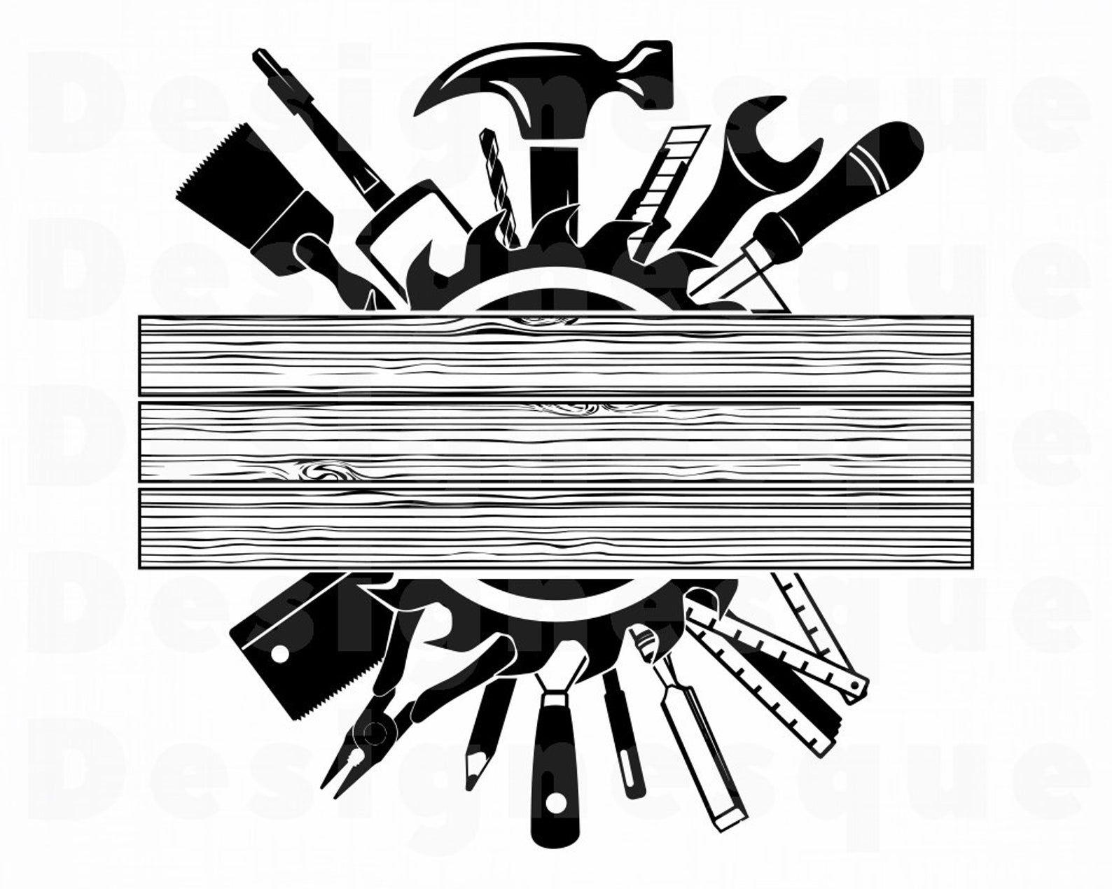 Builder svg contractor svg repairman svg carpenter svg