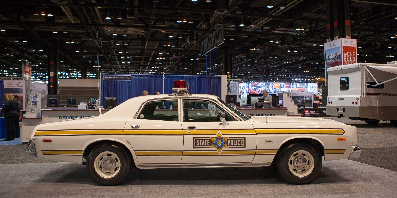 1977 Dodge Monaco Police Car