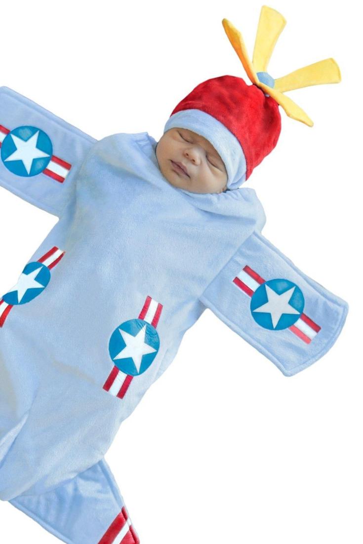 bennett bomber bunting infant costume for 0-3 months #halloween