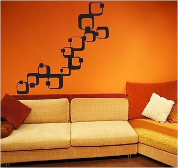 Home Wall Painting hibiscus flower wall decal namaste vinyl sticker art decor bedroom