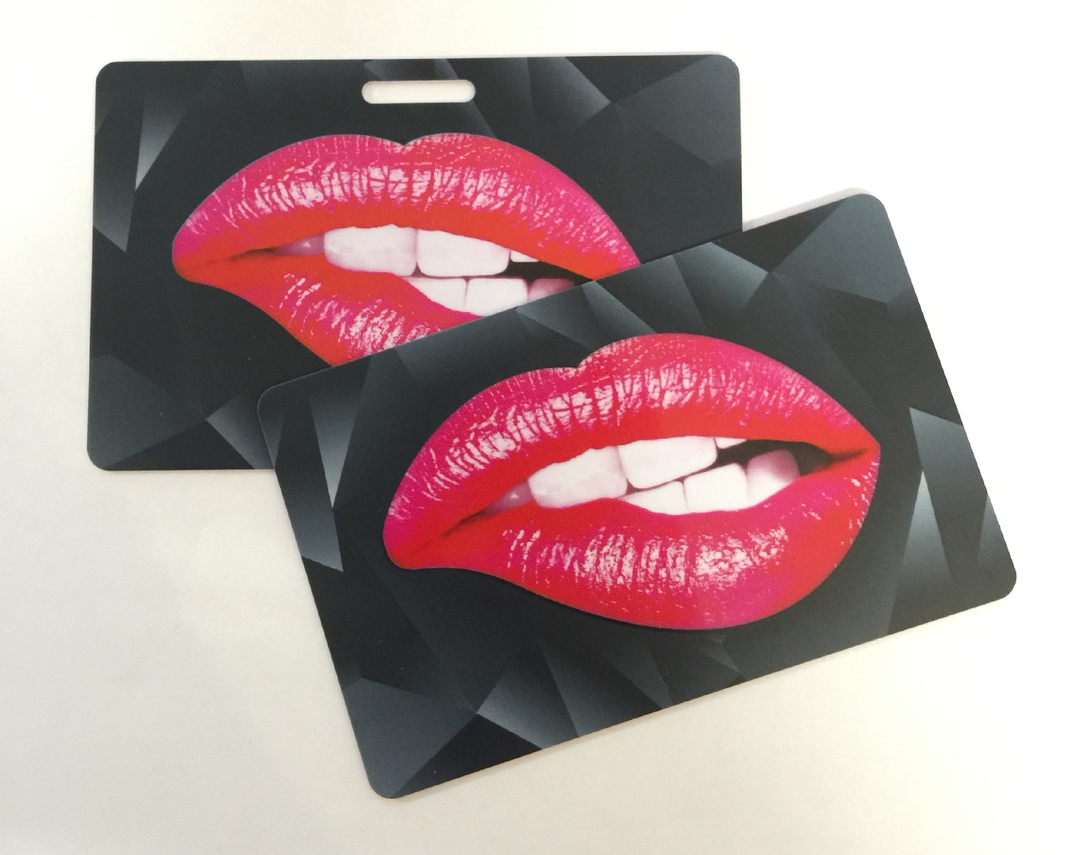 Spot Uv / Spot Gloss Plastic Business Card!! Smooth matt lamination ...