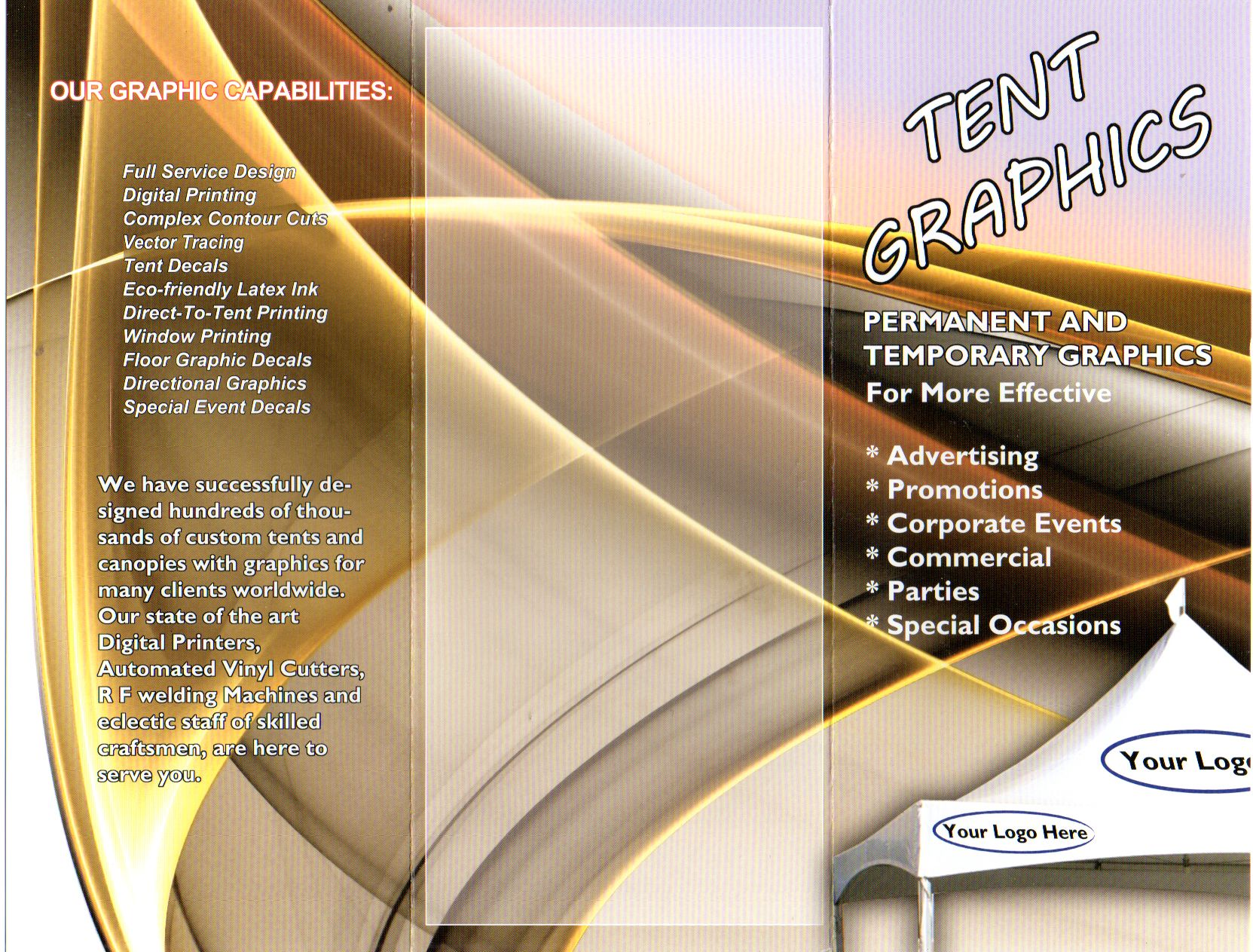 Central Tent brochure 4 & Central Tent brochure 4 | Richard Freeman Portfolio | Pinterest ...