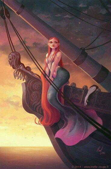 Bad ass mermaid