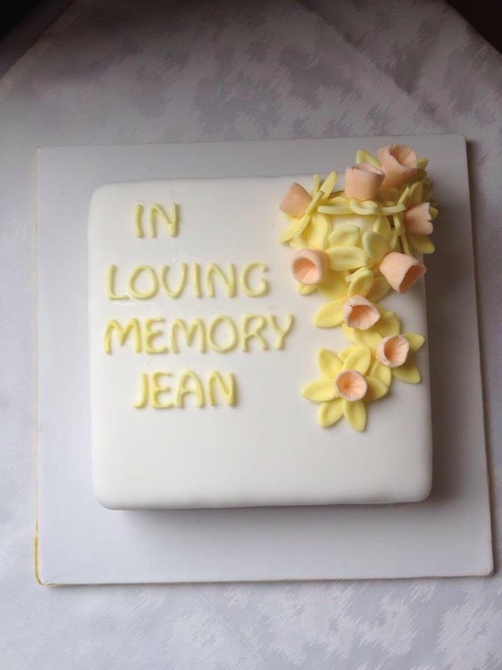Celebration Of Life Cake With Images Celebration Of Life