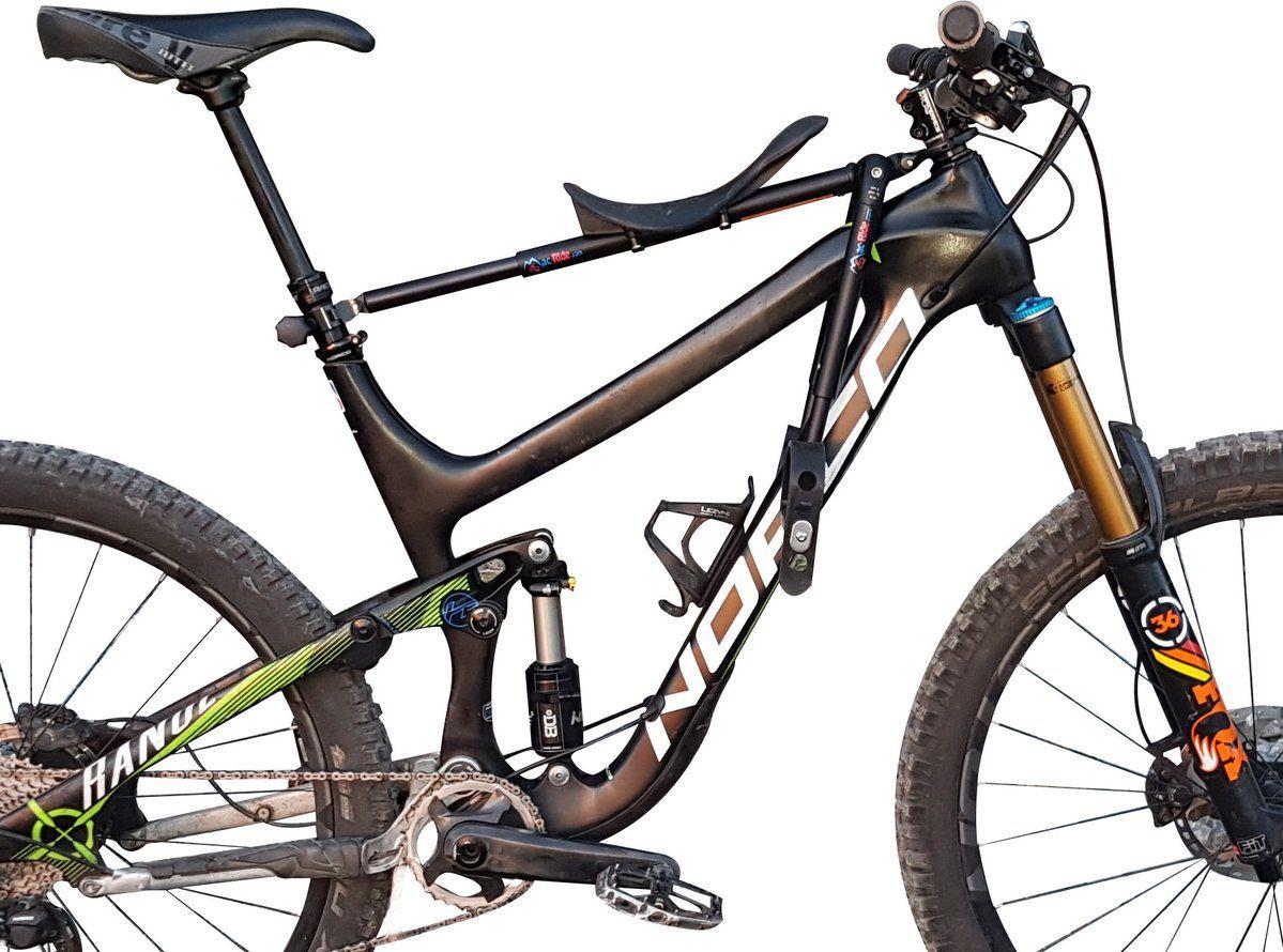 Black Mac Ride Child Bike Seat European Customers See Below