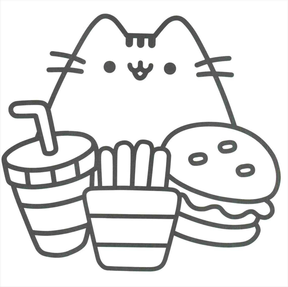 10 Cute Best Friend Drawing Whit No Color Pusheen Kleurplaten Bullet Journal Ideeen