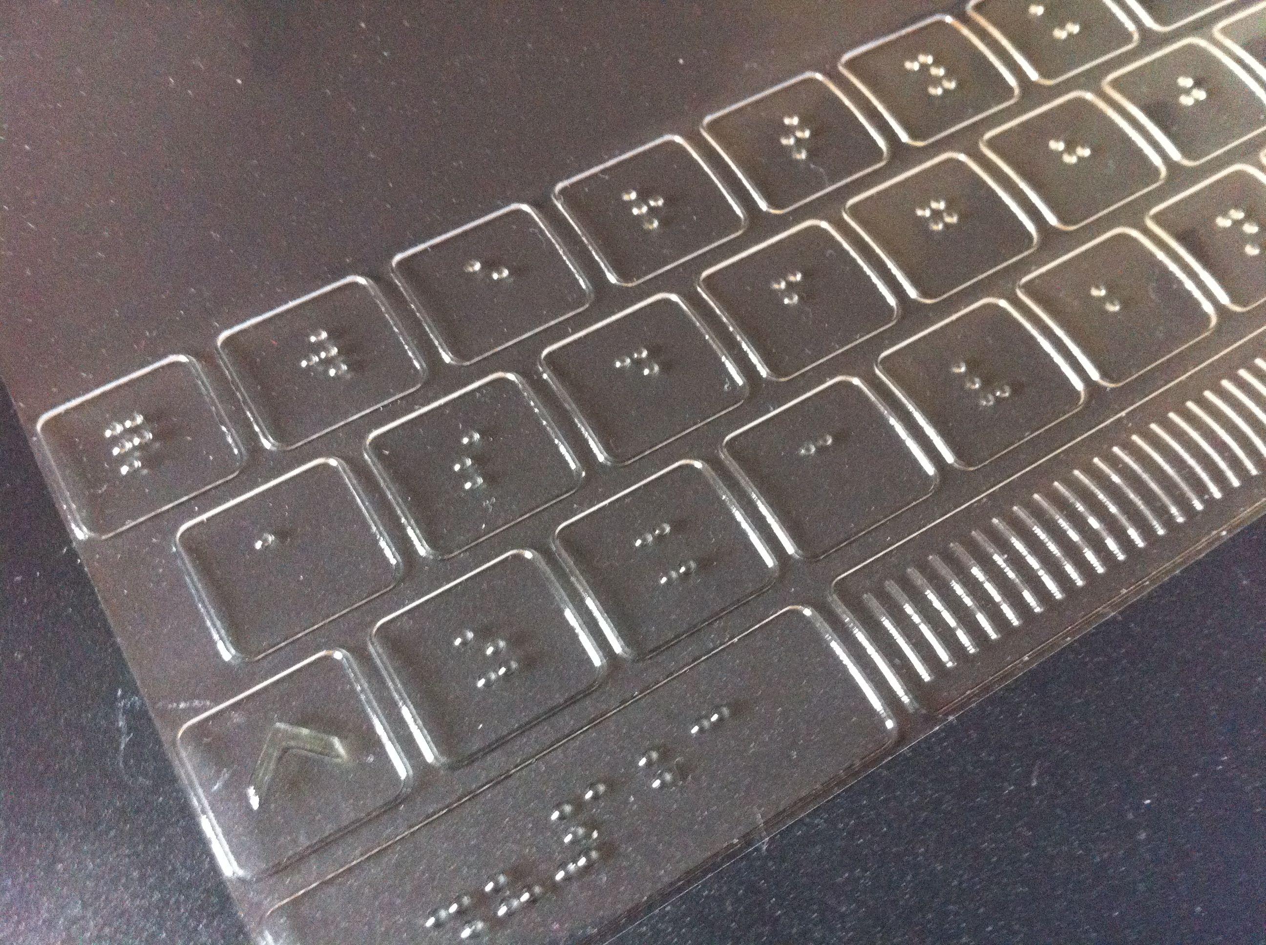 Braille Tastatur