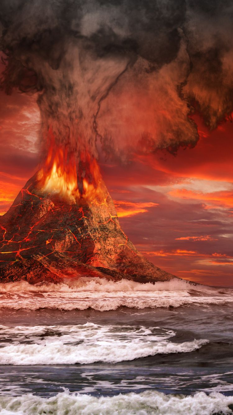 Discover Ideas About Volcano Wallpaper