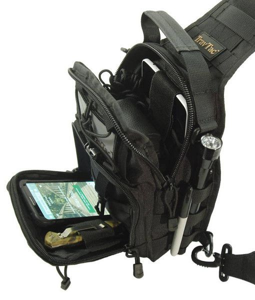 COMPACT   RUGGED   VERSATILE This small  Goes Anywhere  Sling Pack is  Perfect Where larger packs are Too Big 567aad76cc