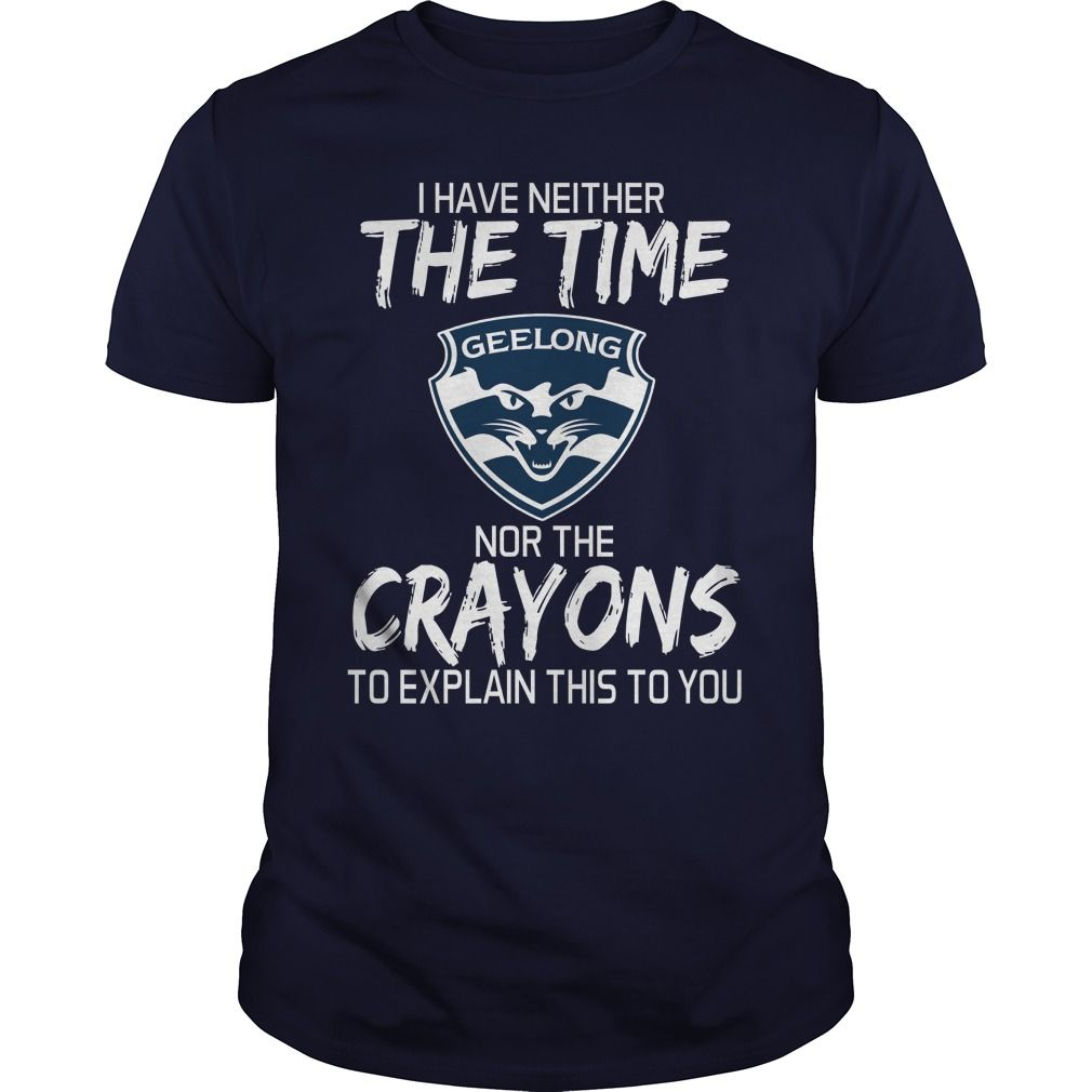 Geelong Cats T Shirt Custom Shirts Mens Tops Shirts