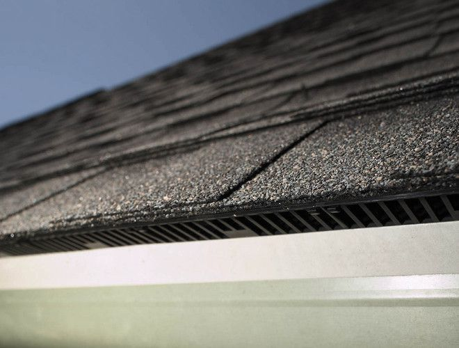 Edge Vent Up Close Cool Roof Roofing Roof Installation