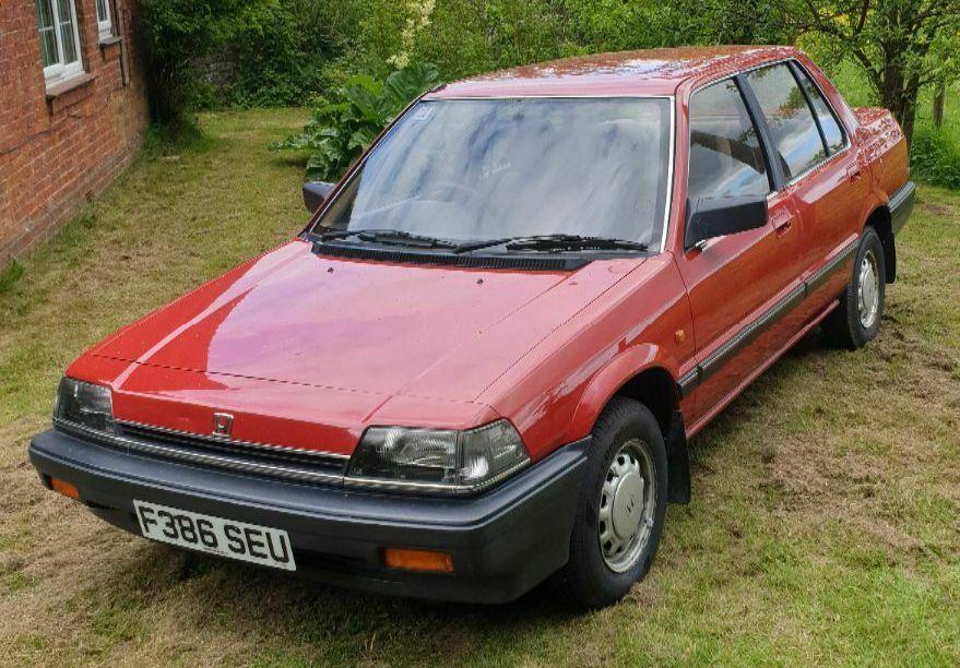 Honda Ballade 1.5 EX Automatic For Sale. Classic