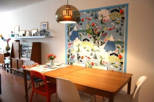 Houzz Tour Vintage Inspired Apartment Shines With Creativity Eclectic Dining Room