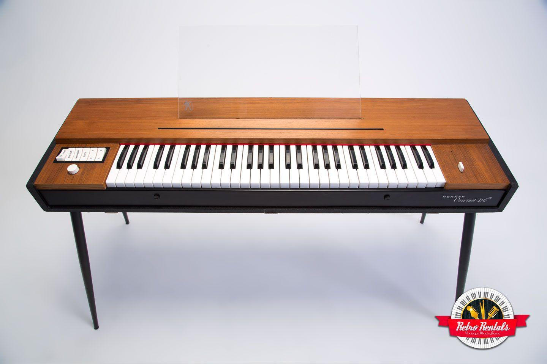 Hohner Clavinet D6 Vintage Keyboard Retro Rentalshohner Clavinet D6 Vintage Keyboard Hohner Learn Guitar Keyboard