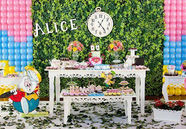 Imagem Http Nessamartins Com Decoracao Alice No Pais Das