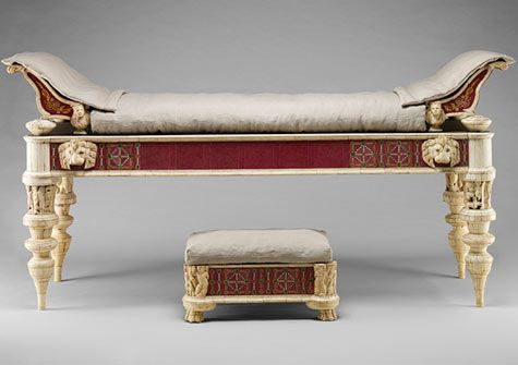 Greek Amp Roman Furniture High Lounge Settees With