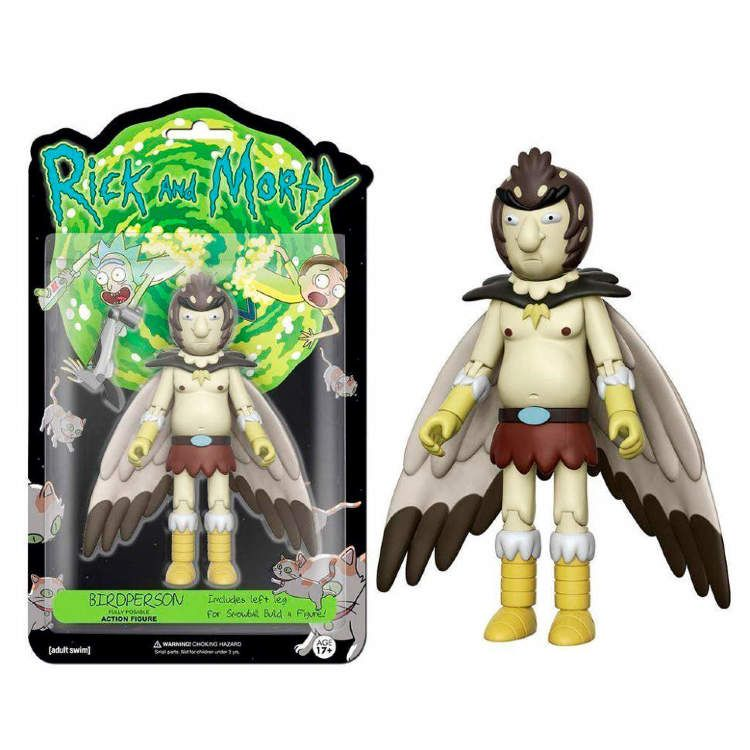 Funko 5 Articulated Rick And Morty Bird Person Action Figure Toy Buy On G4sky Net Figuras Funko Rick Y Morty Figuritas