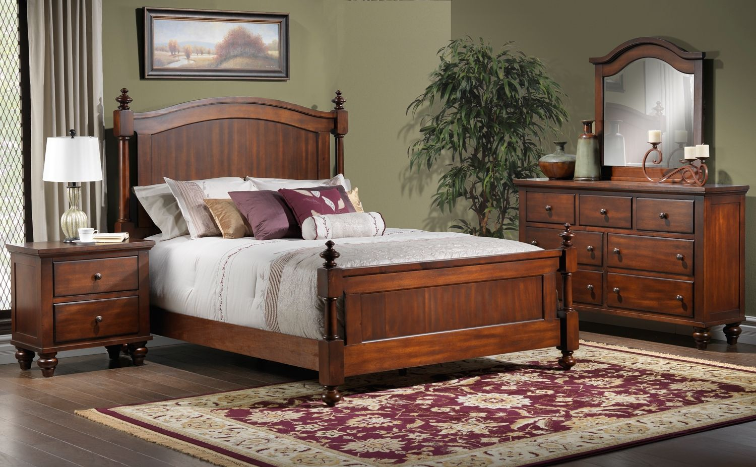 Bedroom Furniture Palisade 5 Pc. Queen Bedroom Set