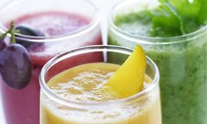 Groupon - 3-, 5-, or 7-Day Juice Cleanse or $ 20 Worth of Juice at Revive Juice Bar in Costa Mesa (Up to 55% Off) in Costa Mesa. Groupon deal price: $12