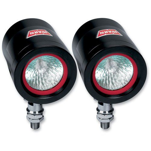WARN 83553 WXT200-S Spot Beam Off Road Light - Pair WXT200-S spot beams are easy on your electrical system. Stainless steel hardware, forged anodized aluminum housings, impact resistant glass, and silicone seals. 35 watt bulbs produce 650 lumens and a 12 degree pattern. Sealed bulbs and welded connectors ensure long life and reliable performance. Designed for ATV and Side by Side application.