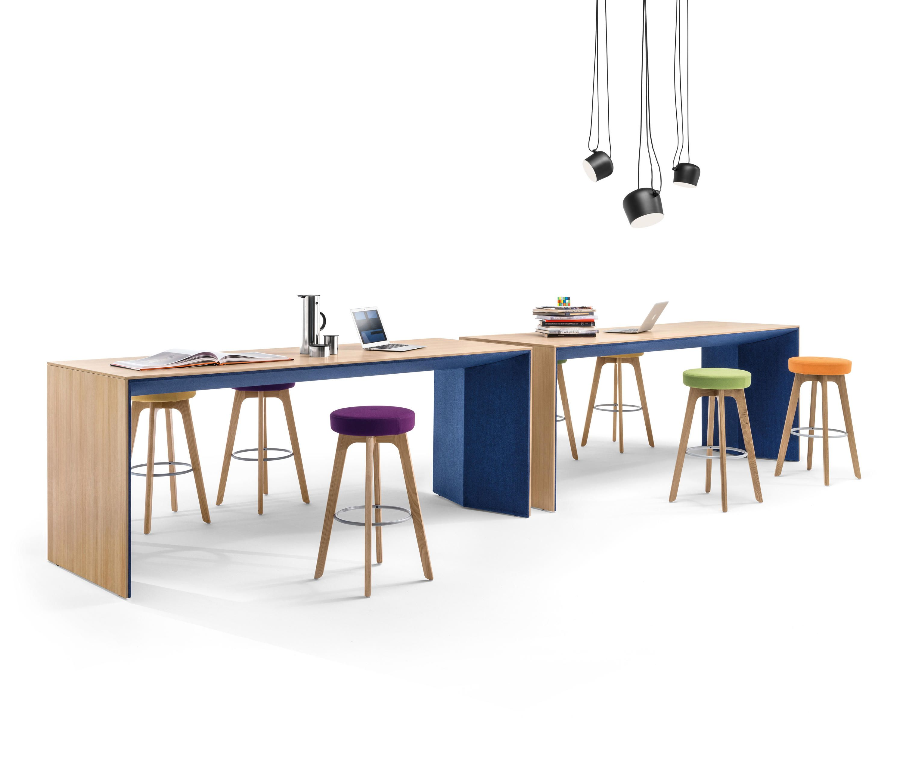 WINEA PLUS | PANELLEG TABLE - Escritorios individuales de diseño ...