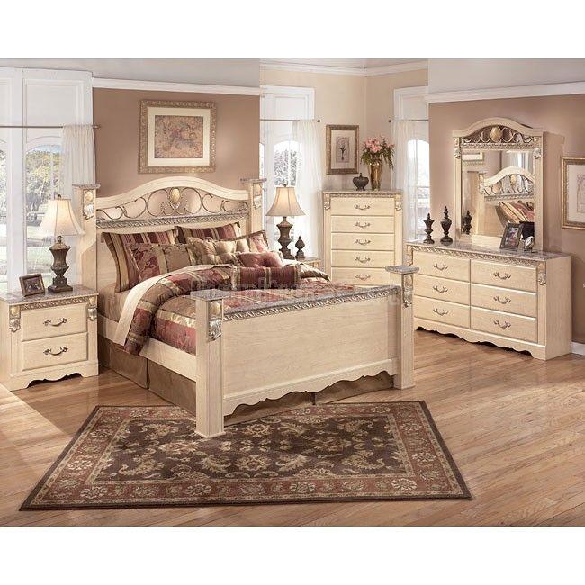 Sanibel Poster Bedroom Set Bedroom Sets Bedroom Set Interior