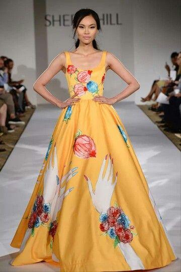 Beautiful unique Sherri Hill gown!