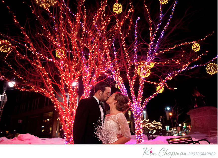 Chris & Brenna at The Portland Club on State Street in ...