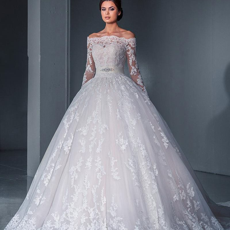 Find More Wedding Dresses Information about Ball Gown 2016 New Off ...