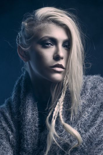 Chilling Beauty Trevor Toma On Fstoppers Viking Hair Hairstyles Theme Beauty Shoot