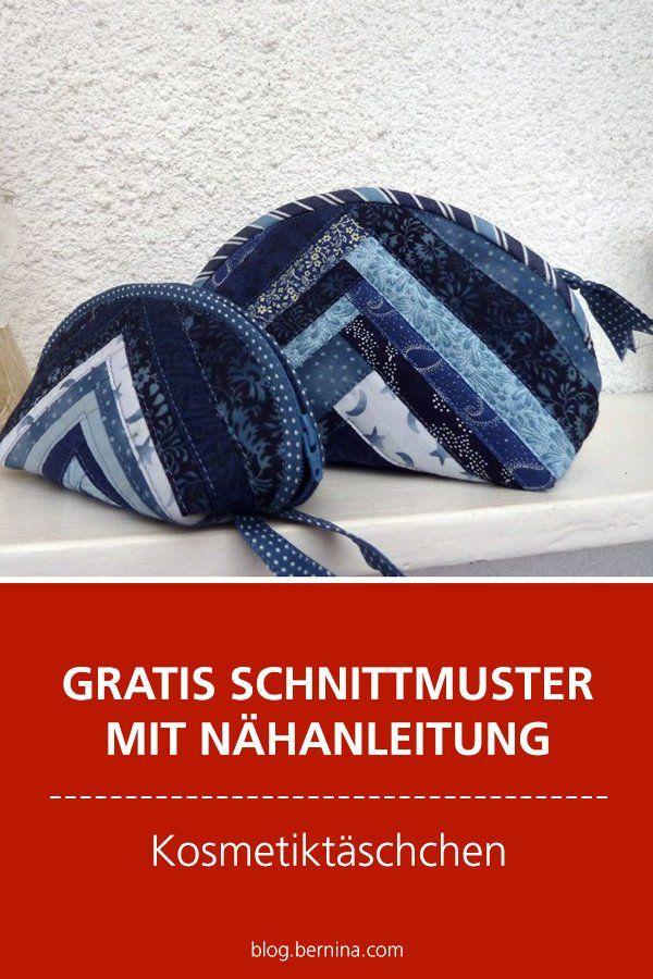 Photo of Gratis-Schnittmuster & Nähanleitung: Kosmetiktäschchen in 4 Größen