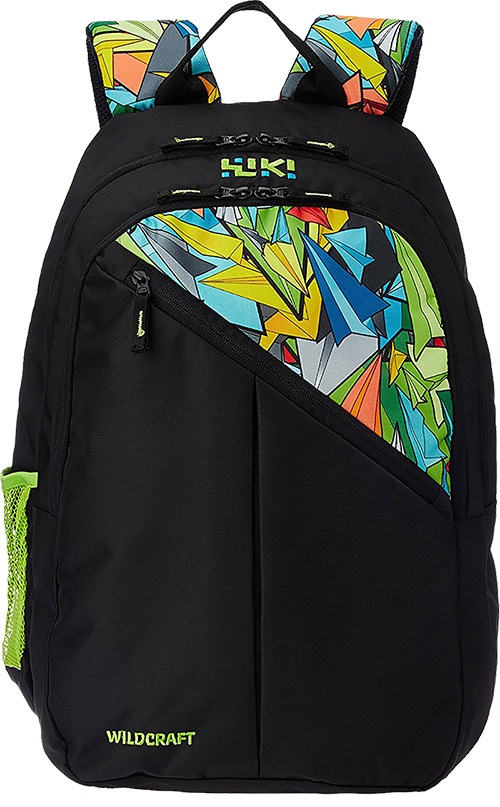 8ec83d9e68c7c Buy Wildcraft 33 ltrs Black Casual Backpack (8903338054900) from Amazon.