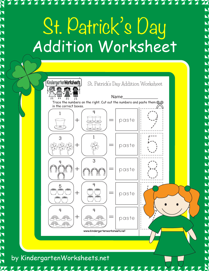 Pin On Saint Patrick S Day Worksheets And More [ 1035 x 800 Pixel ]