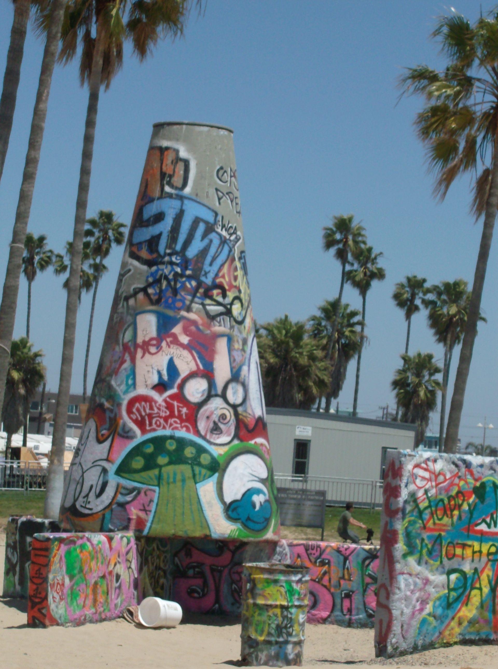 Venice Beach Graffiti Walk