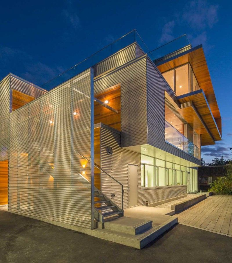 Metal Work Photos Industrial Architectural Residential: It's Rare To See Industrial Spaces Combined With