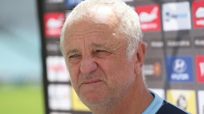 'We don't want no celebration.' Graham Arnold may permit a little smile, but that's about it if, as widely expected, Sydney FC wrap-up the Premiers Plate this weekend with four rounds to go. 10.03.17