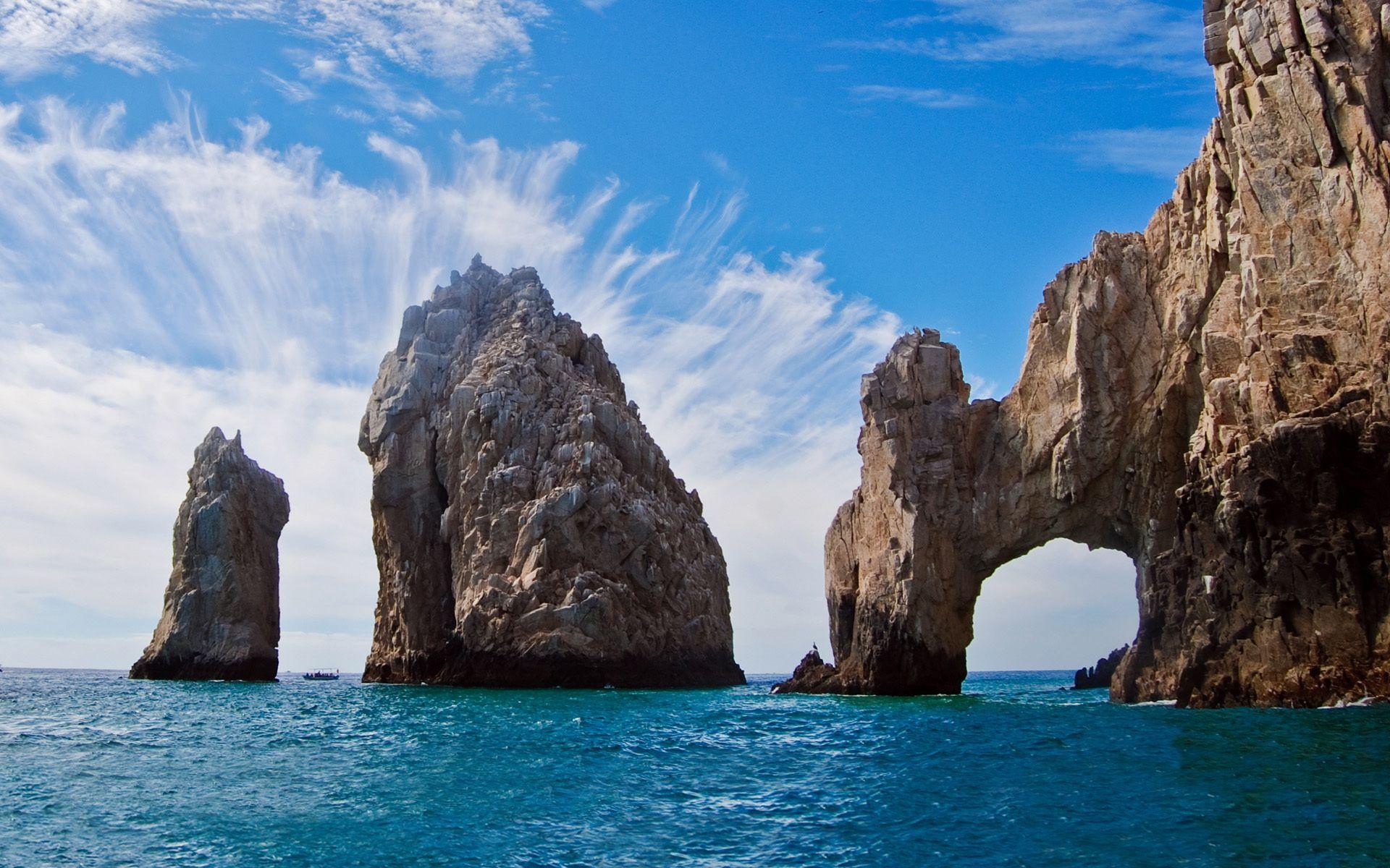 el arco de cabo san lucas or lands end cabo san lucas is a