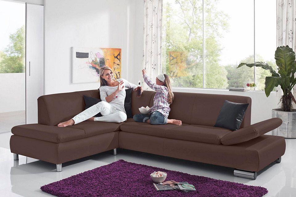 Max Winzer® Polsterecke mit Ottomane »Toulouse« mit klappbaren Armlehnen Jetzt bestellen unter: https://moebel.ladendirekt.de/wohnzimmer/sofas/ecksofas-eckcouches/?uid=14afbd5c-5103-5bb2-9390-57fb4fb699dd&utm_source=pinterest&utm_medium=pin&utm_campaign=boards