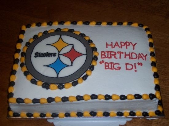 pinterest steelers cake cake Steelers Birthday Cakes