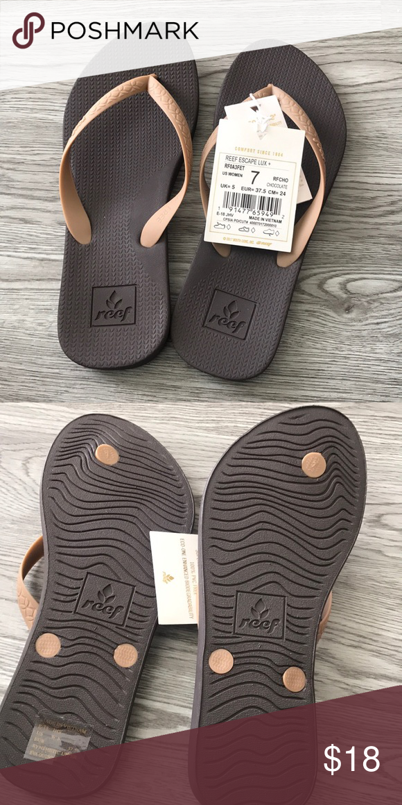 Reef Escape Lux Rubber Sandals Best Flip Flop On Market reef escape sandals Shoes