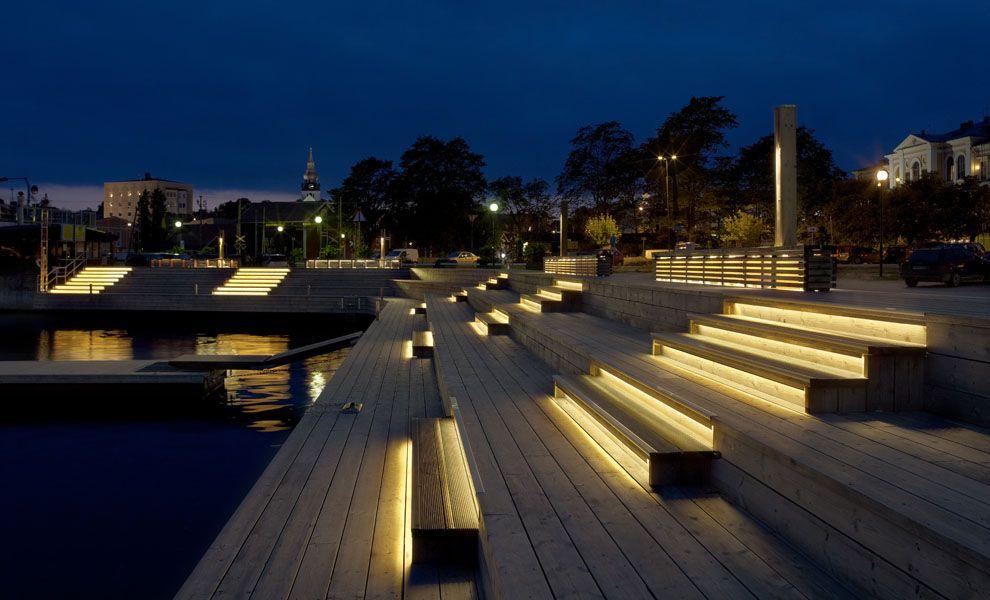 hudiksvall pontoons lighting urban pinterest lumiere luminaire et am nagement. Black Bedroom Furniture Sets. Home Design Ideas