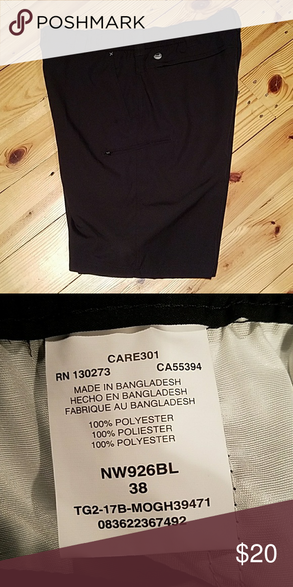 Wrangler Mens Zip Cargo Shorts 4-way flex 38 New without tags Wrangler Shorts Cargo