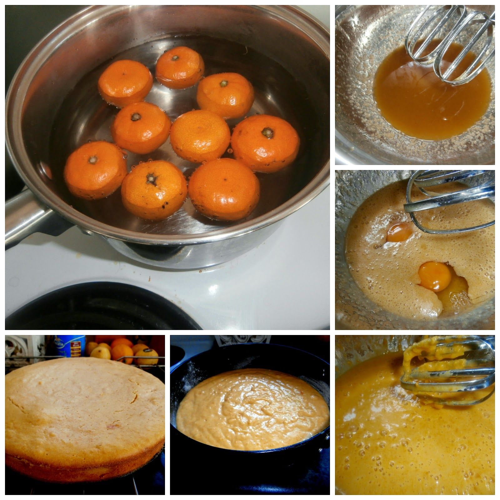 Kolač od celih mandarina Whole mandarin cake
