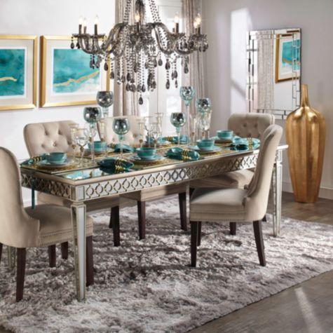 Dining Room Table Decor, Z Gallerie Dining Room Ideas