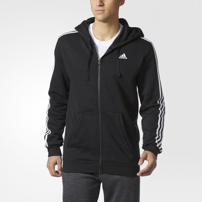 Big and Tall Essentials 3 Stripes Hoodie | Mens big, tall